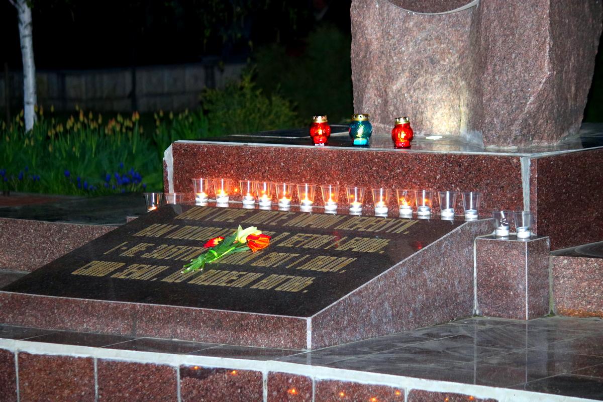 Памятный знак жертвам Чернобыльской трагедии