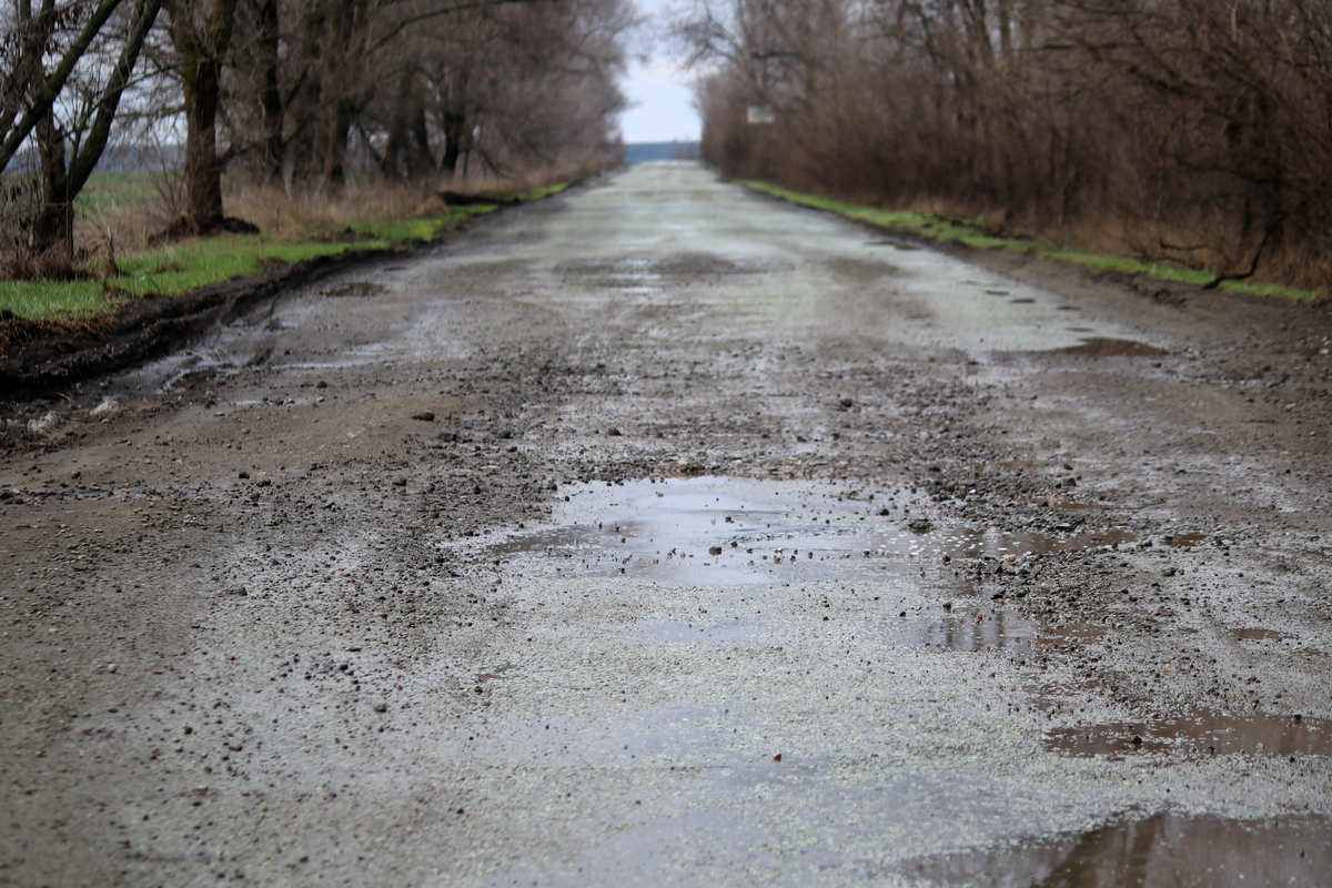 Водителям был предложен вариантобъезда через село Старозаводское