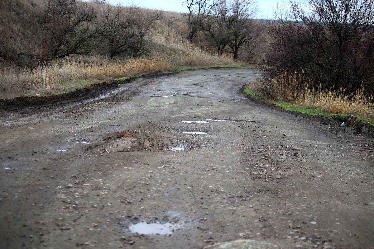 Объездная дорога через село Старозаводское