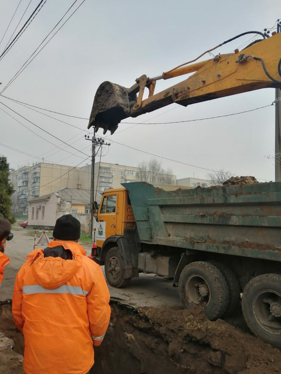 Коммунальная служба «Никопольводоканал» проводит плановые работы