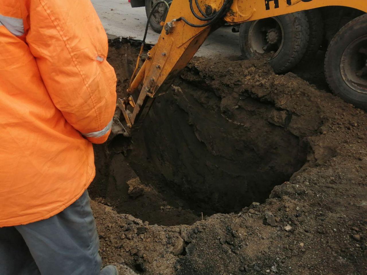 Копают яму