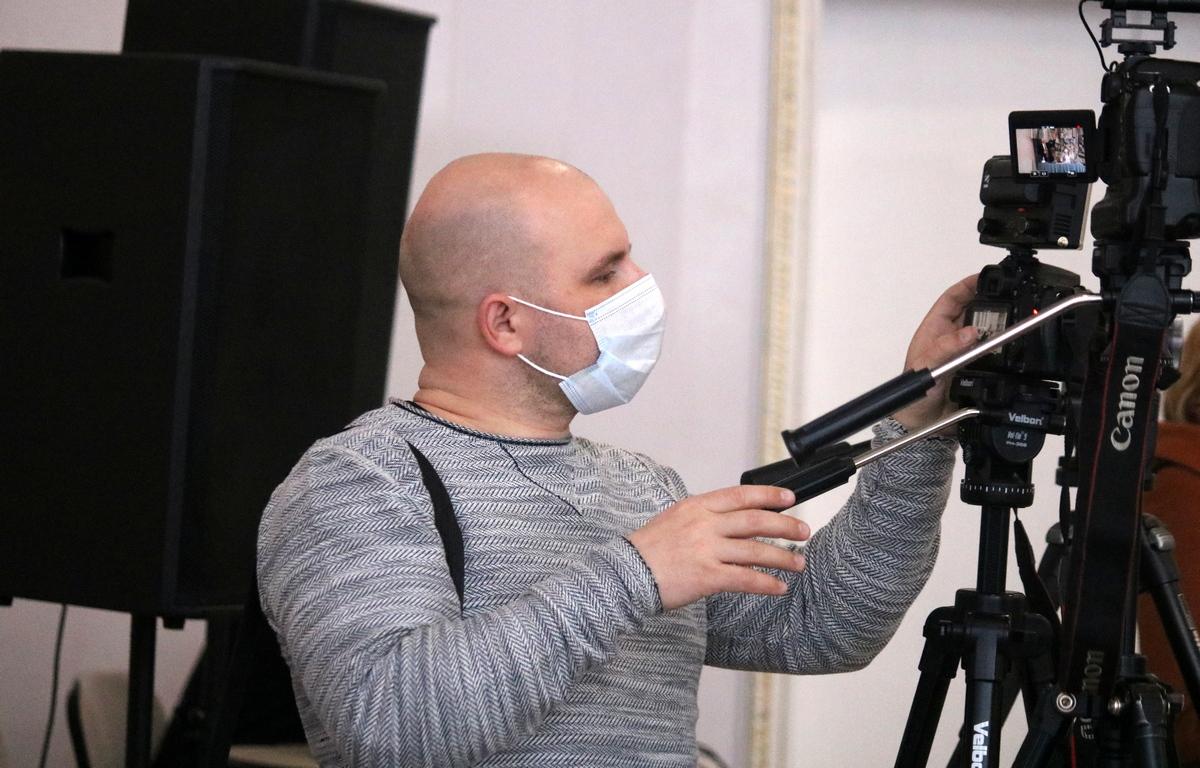 Фотограф и оператор Дмитрий Гузий