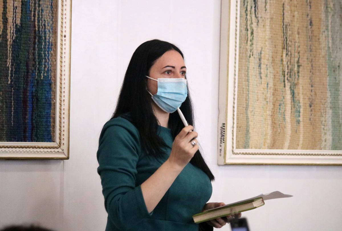 Ольга Пастушок, директор Никопольской школы искусств