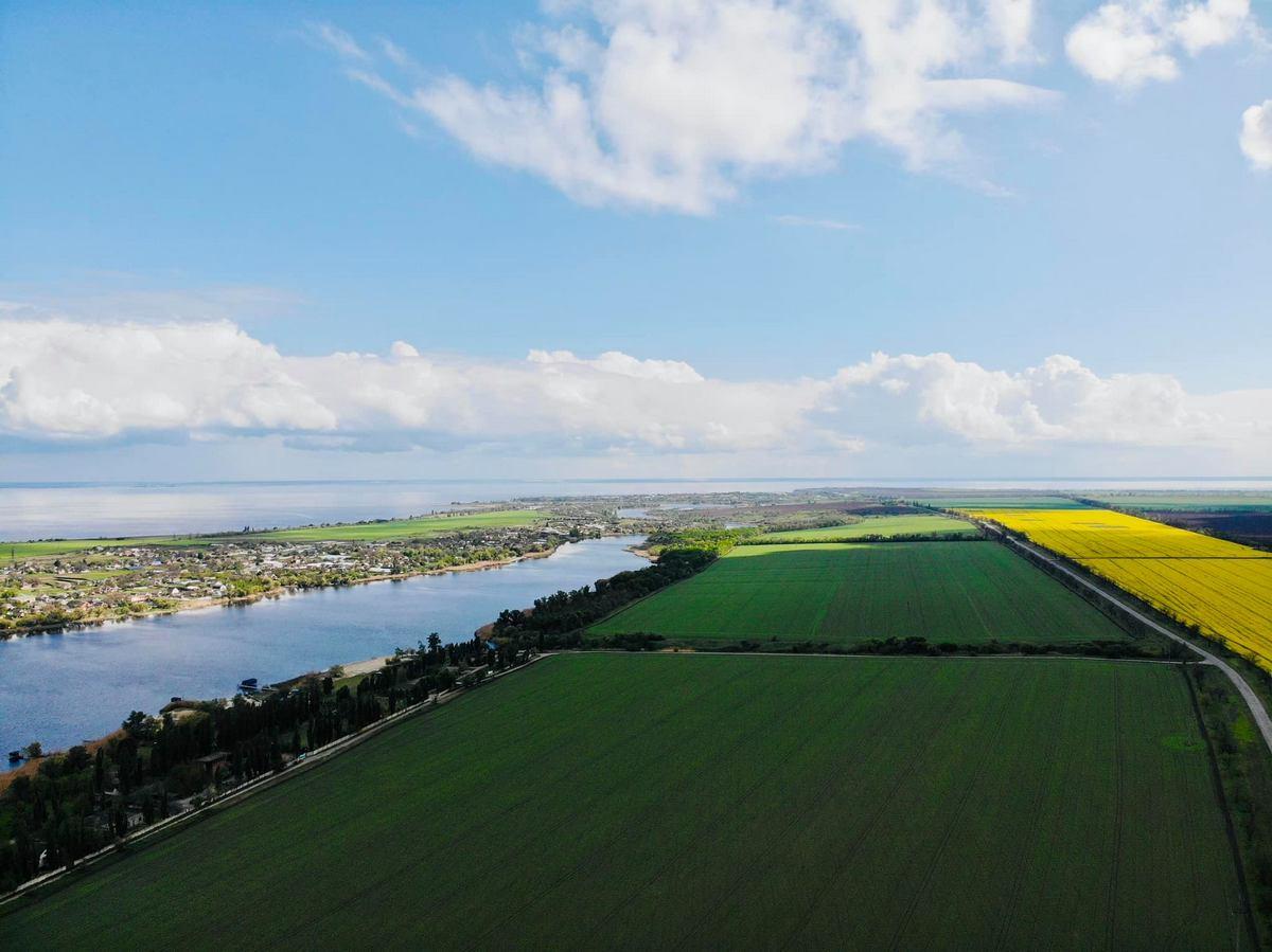 Красивые поля нашего района