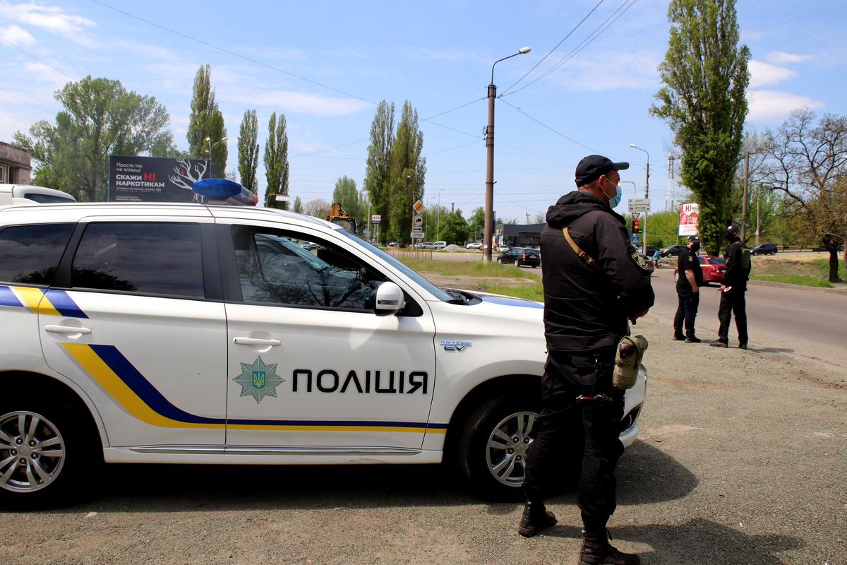 На дорогах Никополя начались полицейские рейды