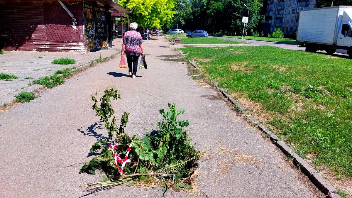 В Никополе ребенок провалился в открытый люк на улице Шевченко , фото-1
