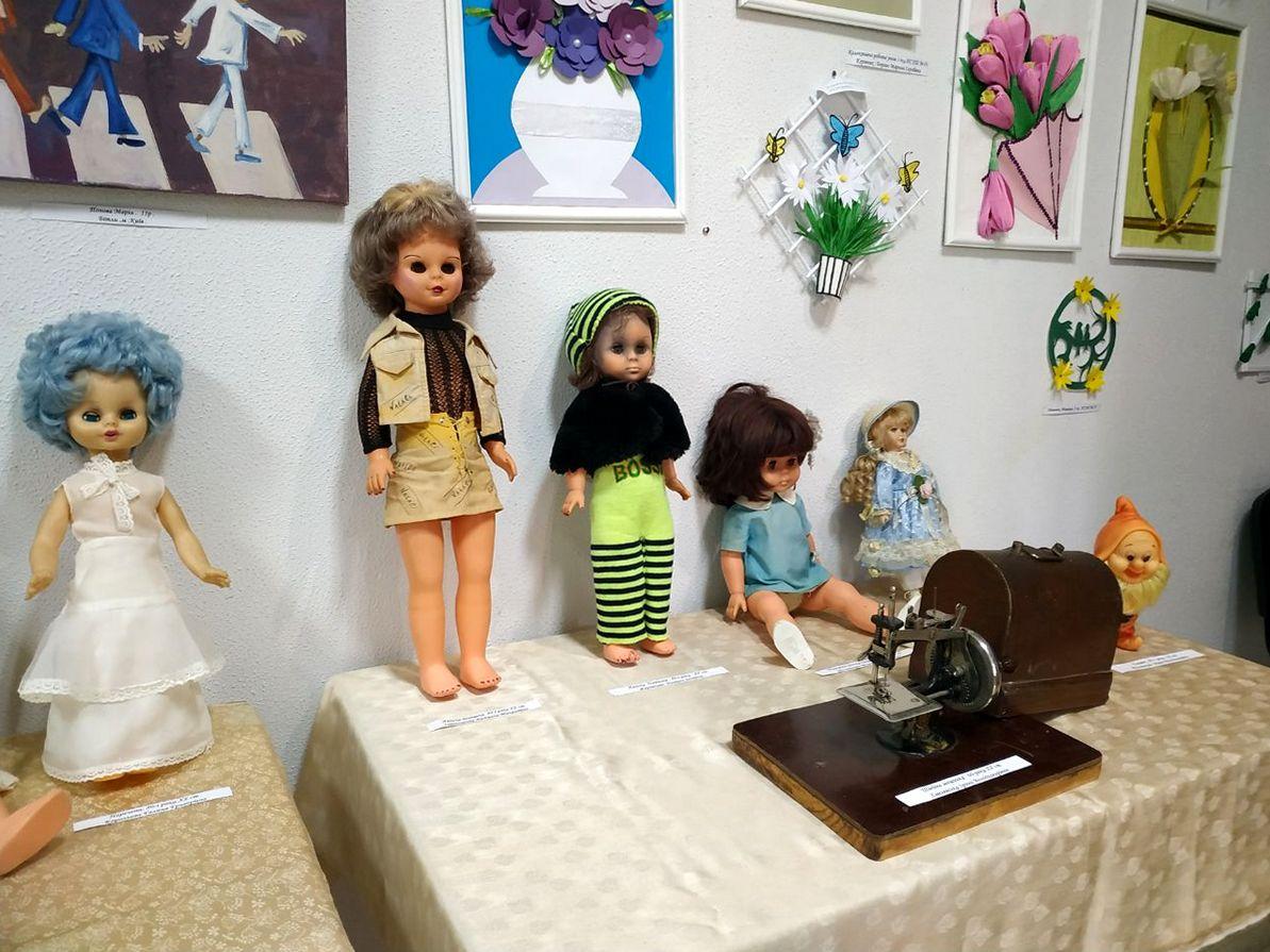 Куклы 50-х и 80-х годов