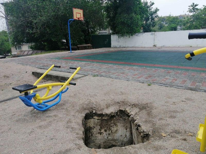 Тренажеры могут уйти под землю