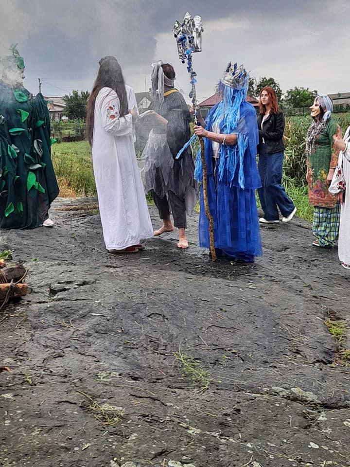 В селе Шолохова также прошли праздничные мероприятия