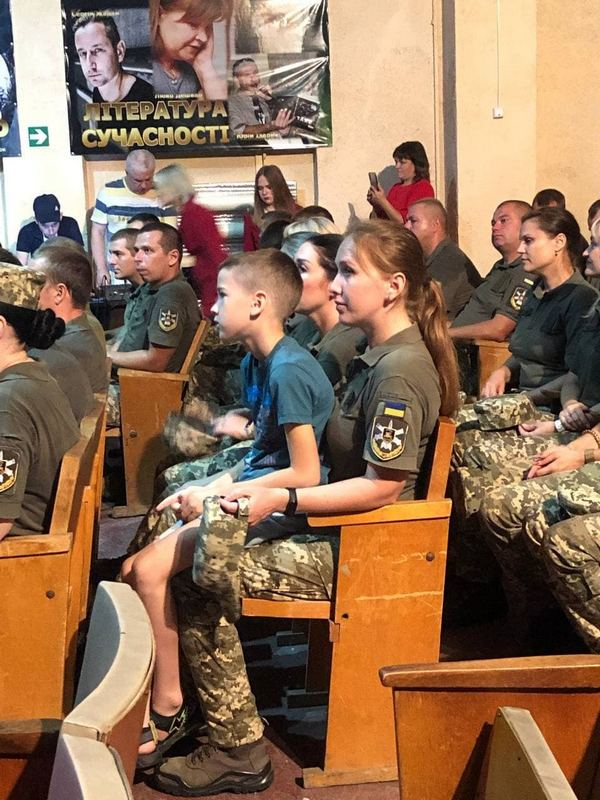 В Никополе отметили День семьи военнослужащих и работников части
