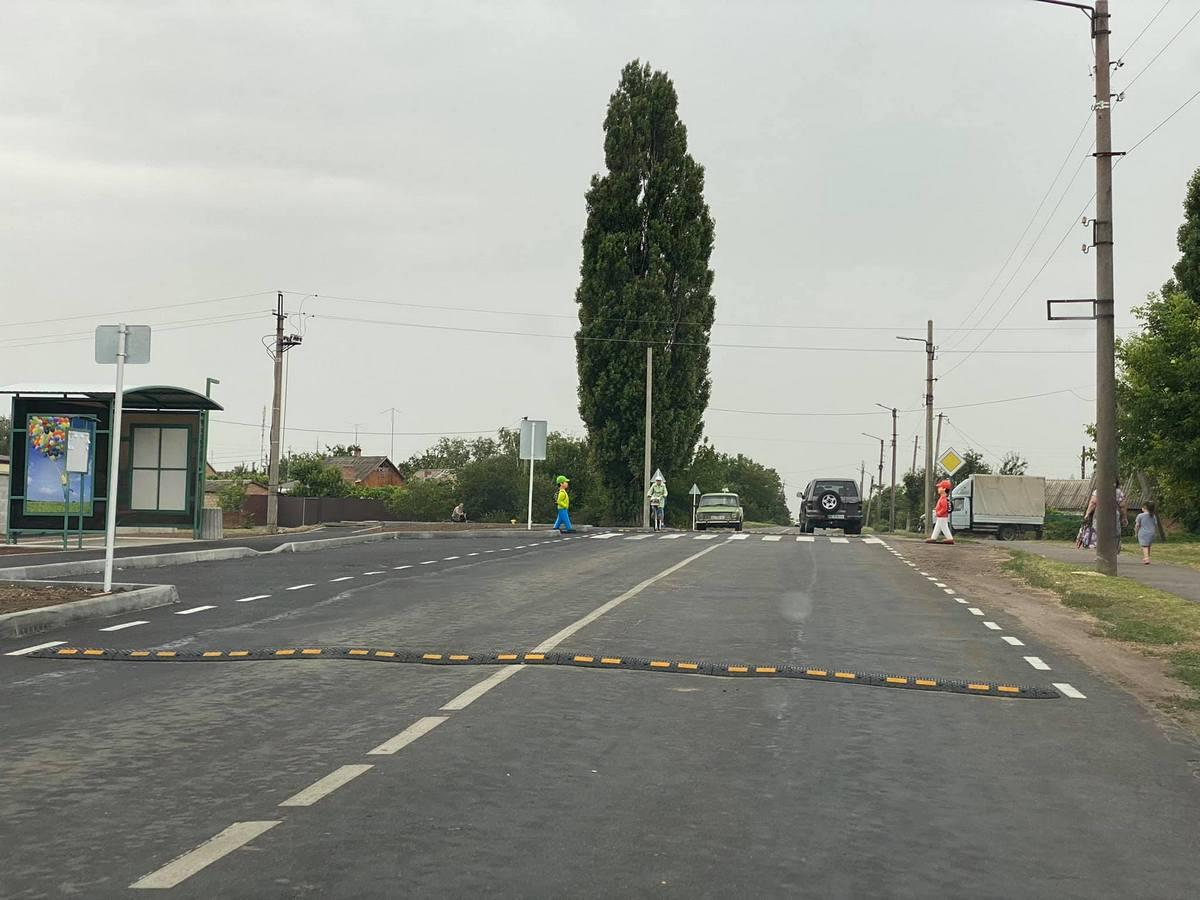 В Покрове установили новый пешеходный переход
