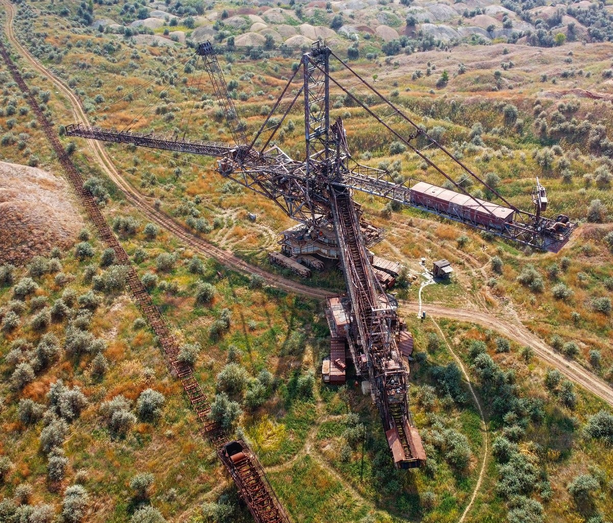 Никопольский край славится большим месторождением руды