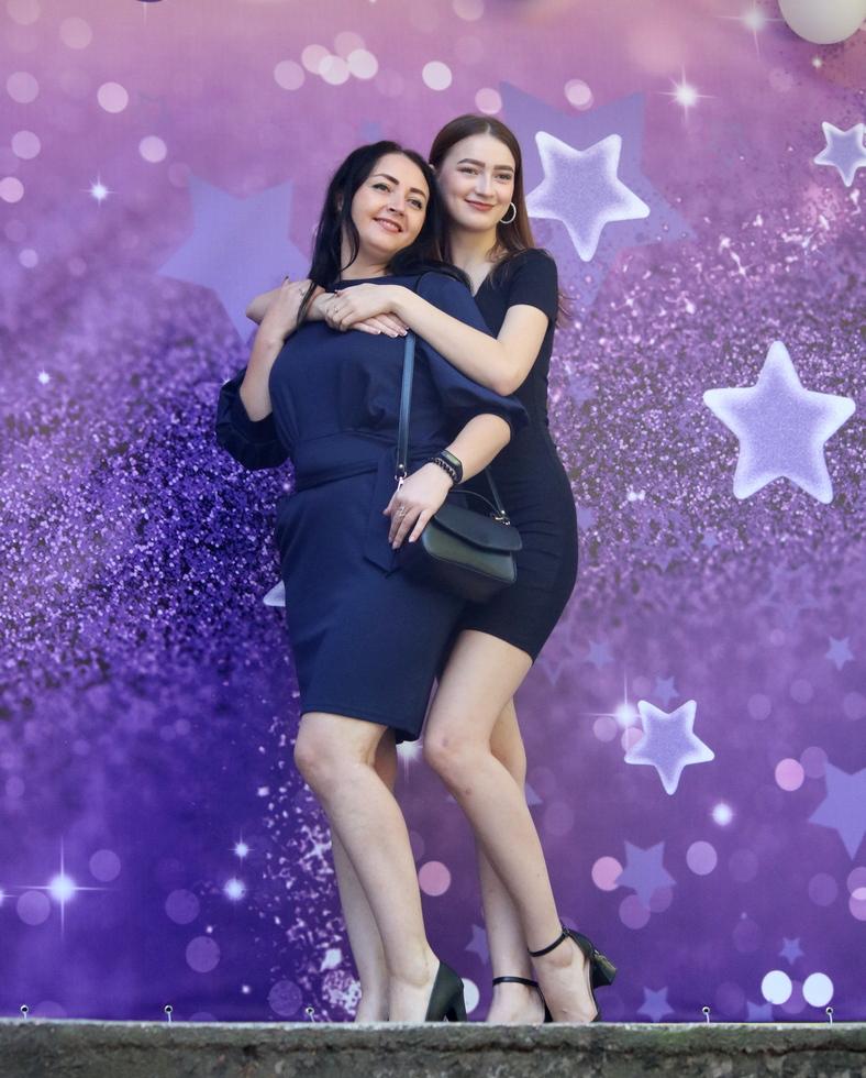 Мать и дочь выпускница