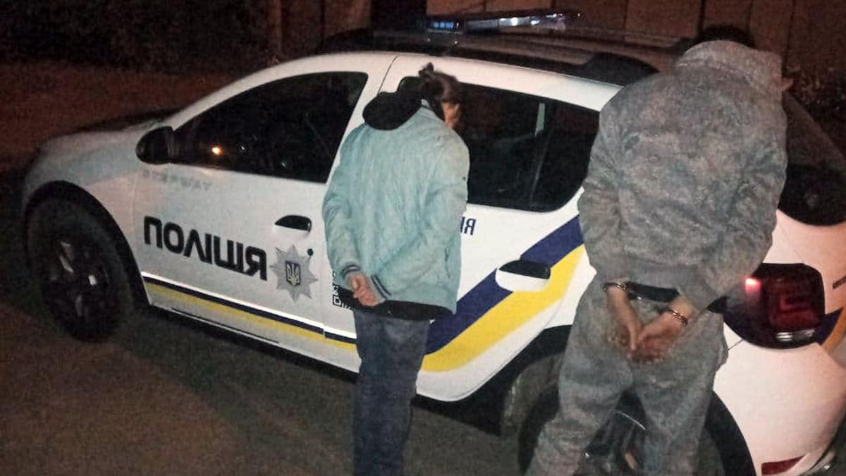 В Никополе полиция охраны задержала 5 человек за кражу в кафе